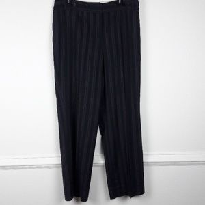 NWOT CATO PLUS SIZE PINSTRIPED TROUSERS SIZE 16W